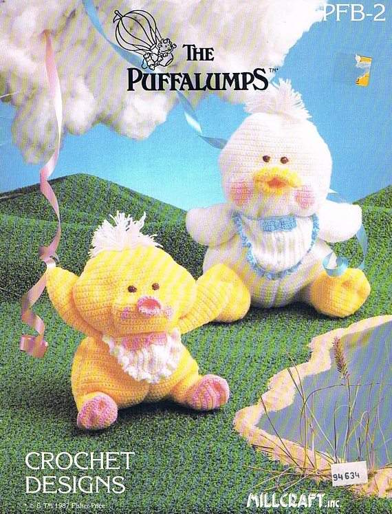The Puffalumps Crochet Toys | Knit or Crochet Toy Patterns | Pinterest