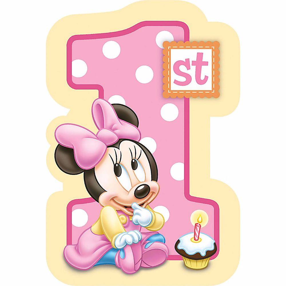 black friday deal baby minnie mouse birthday invitations 8 pkg disney invites party from amscan cyber monday