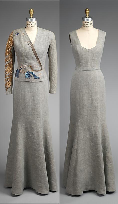 Cocteau Jacket Ensemble Fall 1937 Designed By Elsa