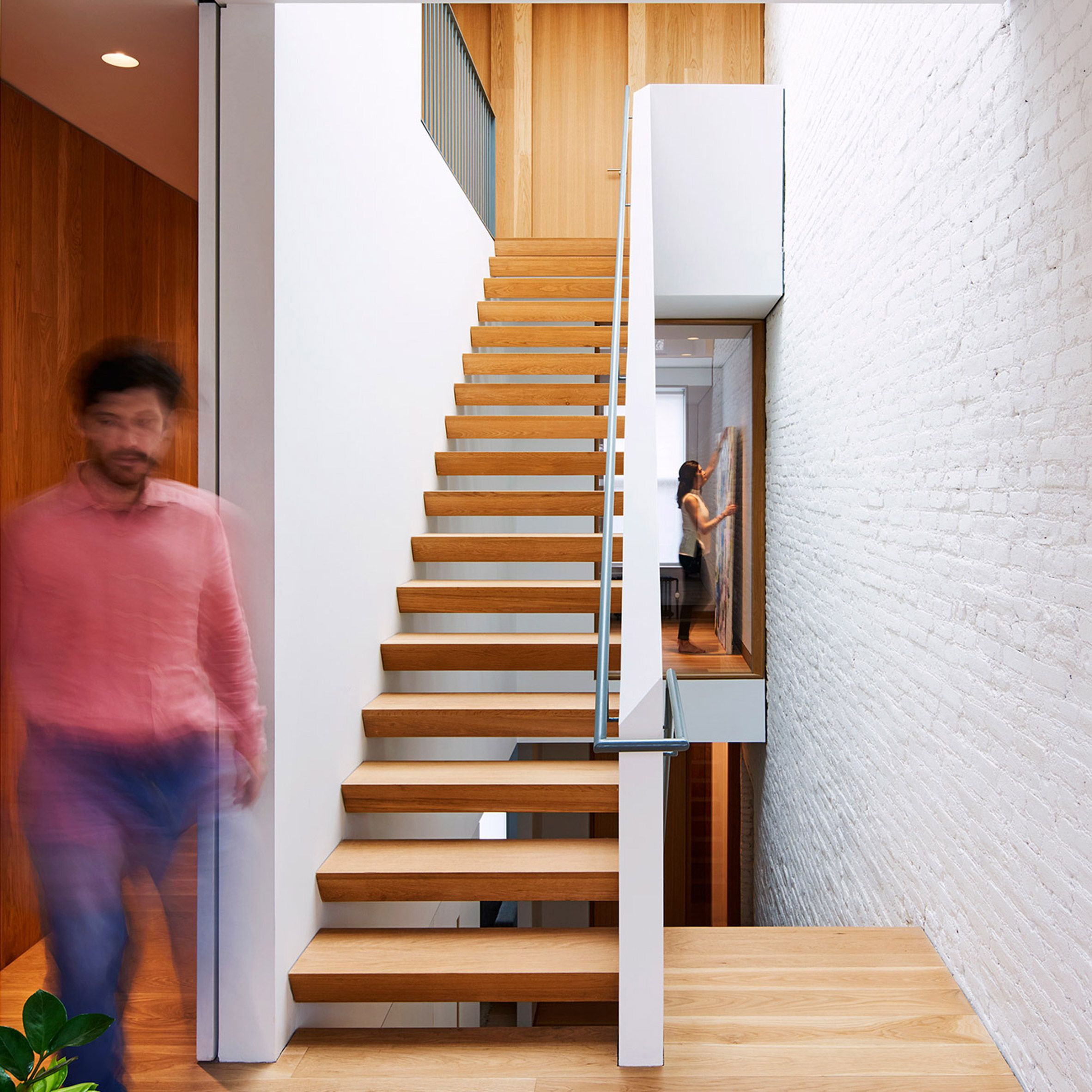 Sichtbetontreppe Außen Light And Air Architecture Has Overhauled A Brooklyn Home Using A