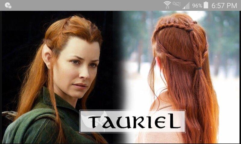 Pin By Goldenhawksbeard On Hair Elf Hair Elven Hairstyles Elvish Hairstyles