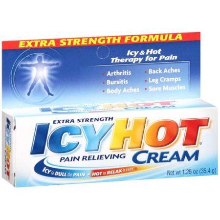 picture relating to Icy Hot Coupons Printable referred to as Icy Warm Soreness Relieving Product Far more Electrical power, 1.25 OZ