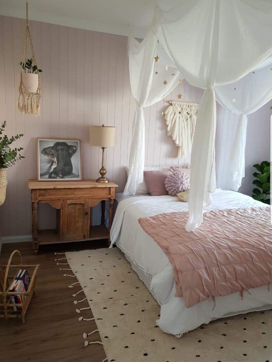 Photo of Tween Bedroom Ideas: Pink and Natural Tones – Somewhere Between