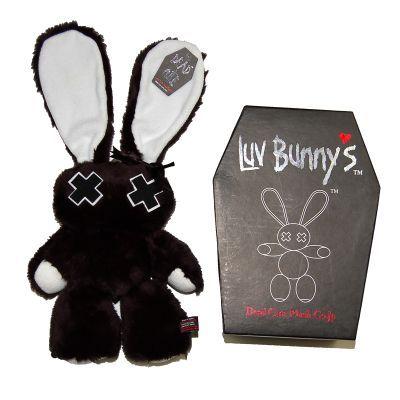 Poizen Industries - Luv Bunnys - Minxy Doll - Black / White