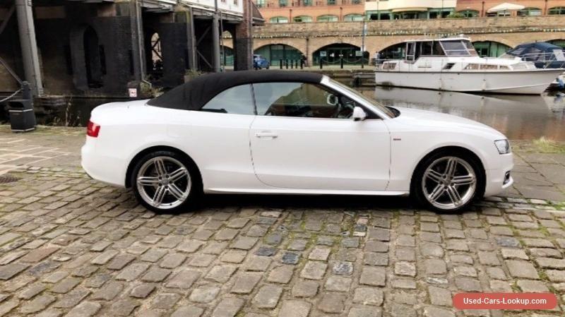 Audi A5 2.0 S line TDI convertible 2010reg fsh 31k #audi # ...