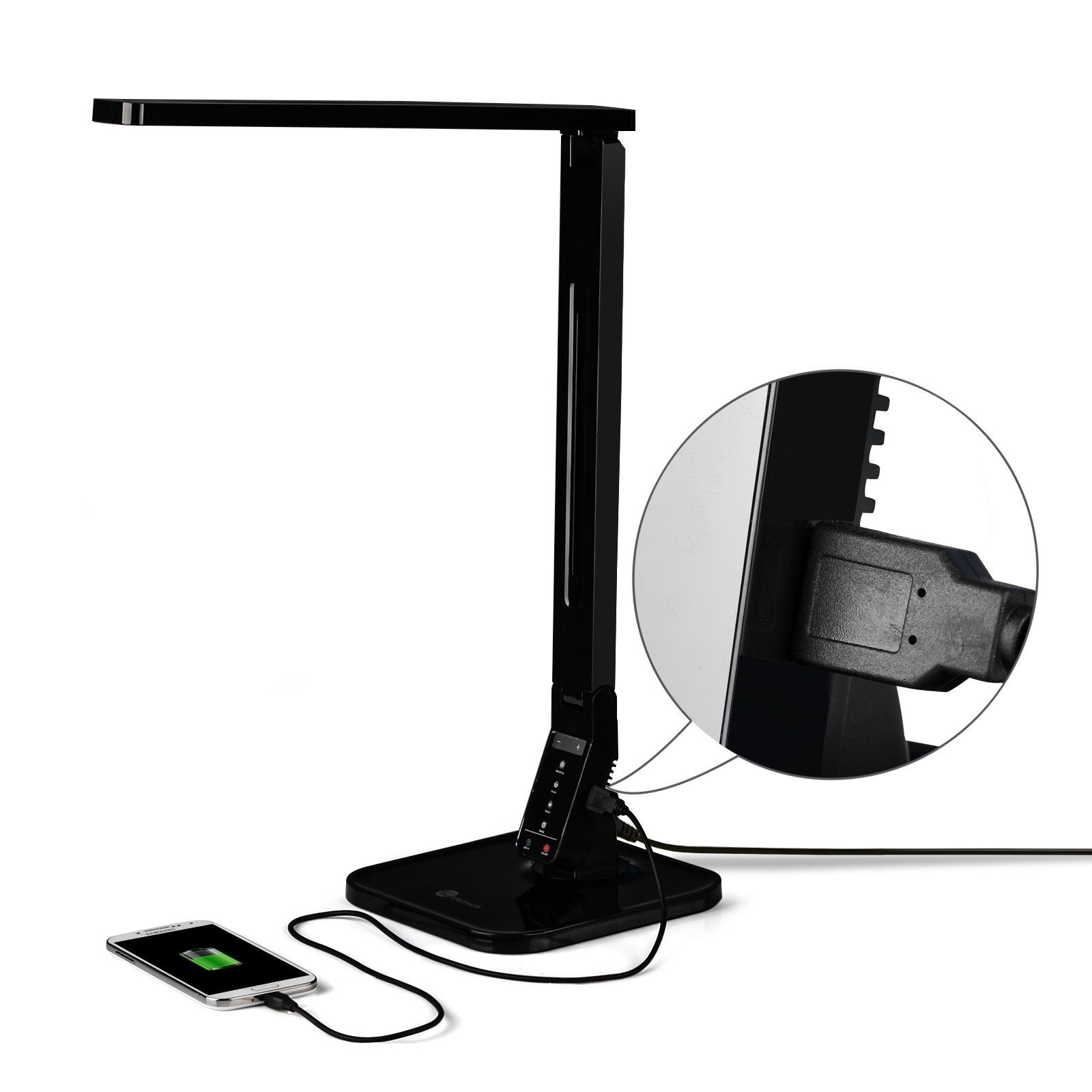 1 Rated LED Desk Lamp Brand on Amazon. TaoTronics® Elune TT-DL01 ...