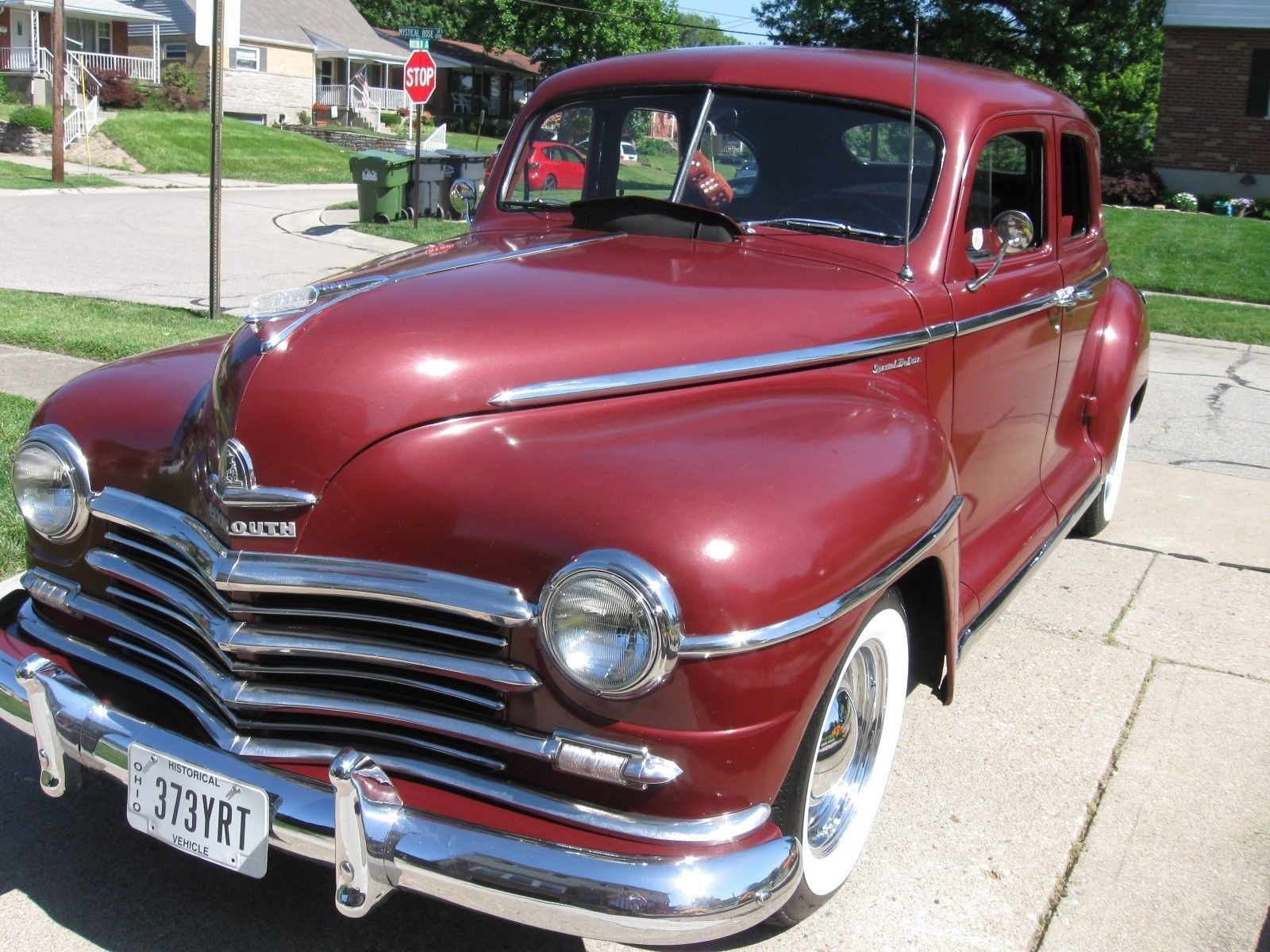 1946 Plymouth Deluxe Motor Car And Cars 1953 Savoy Wagon Ebay