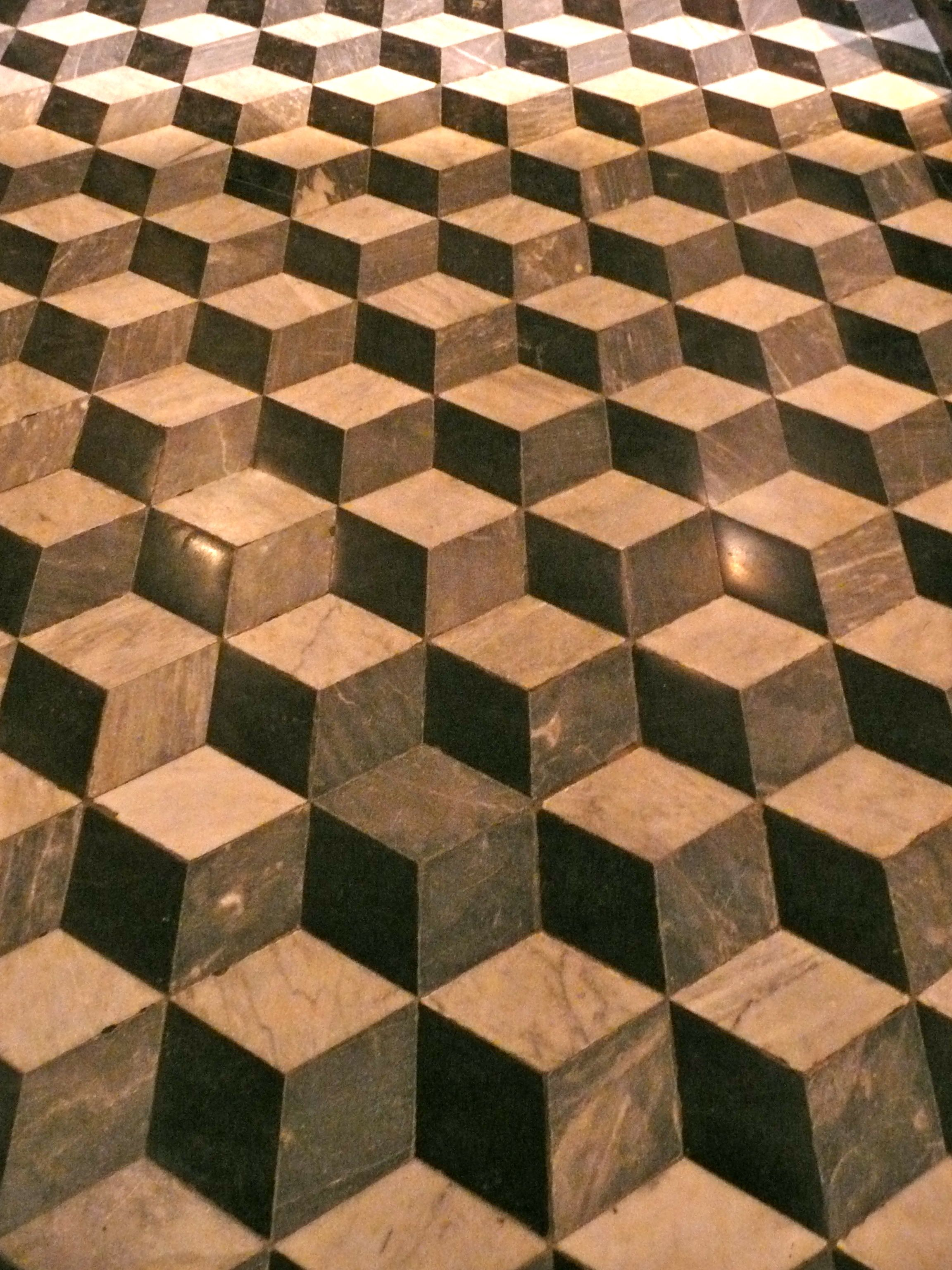 Salta, Argentina church floor