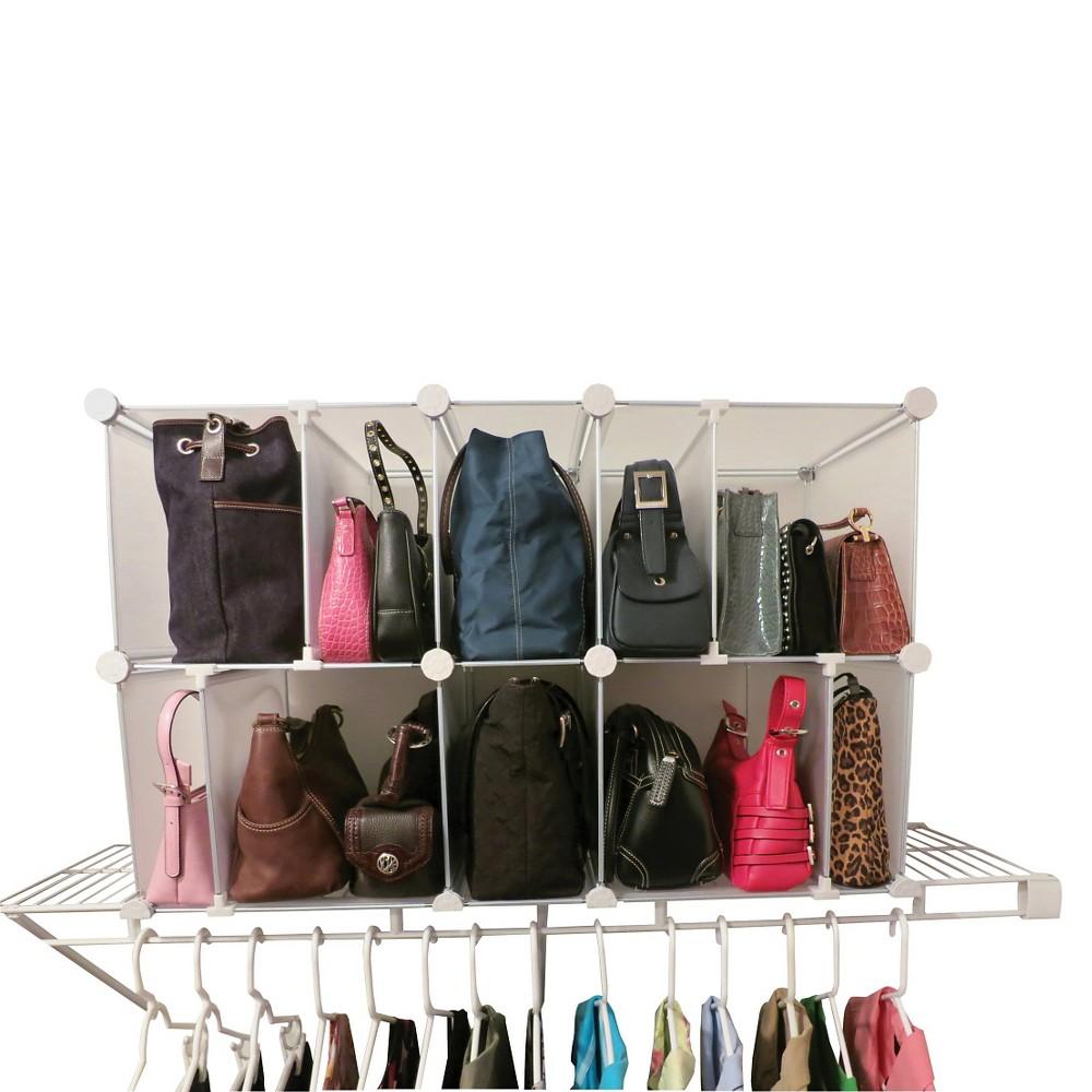 Luxury Living Park A Purse Modular Organizer Clear Purse Organization Purse Storage Best Closet Organization