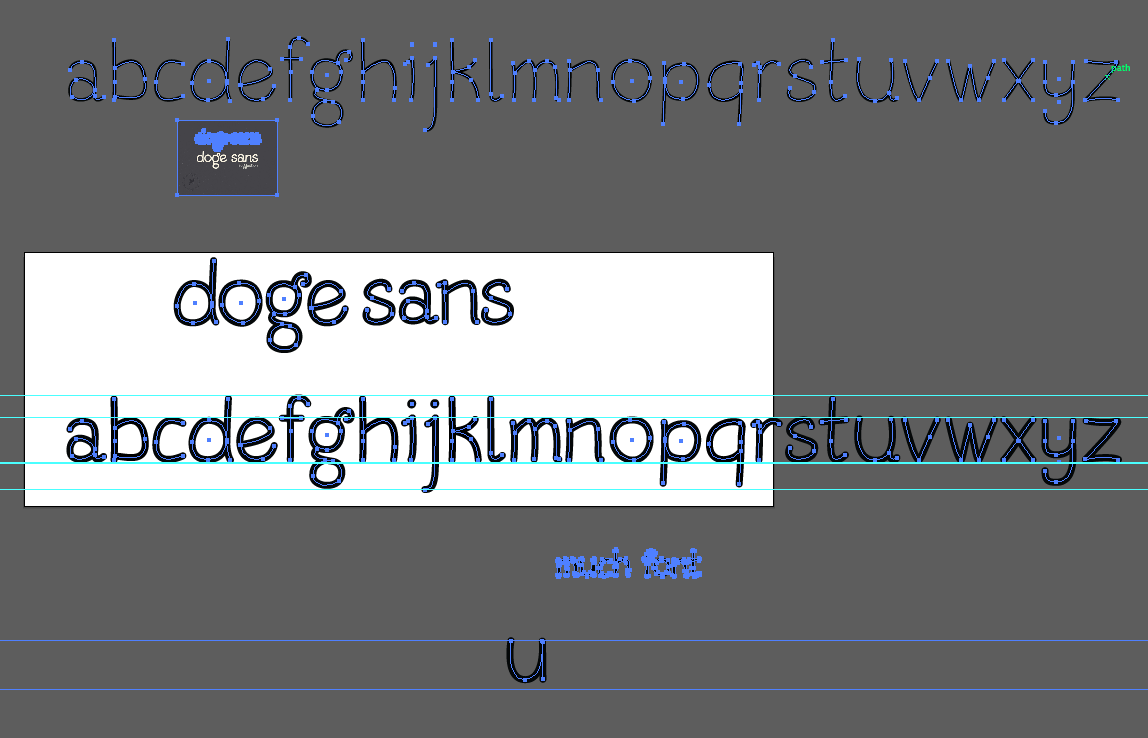 Doge may be getting its very own font Doge Sans so doge
