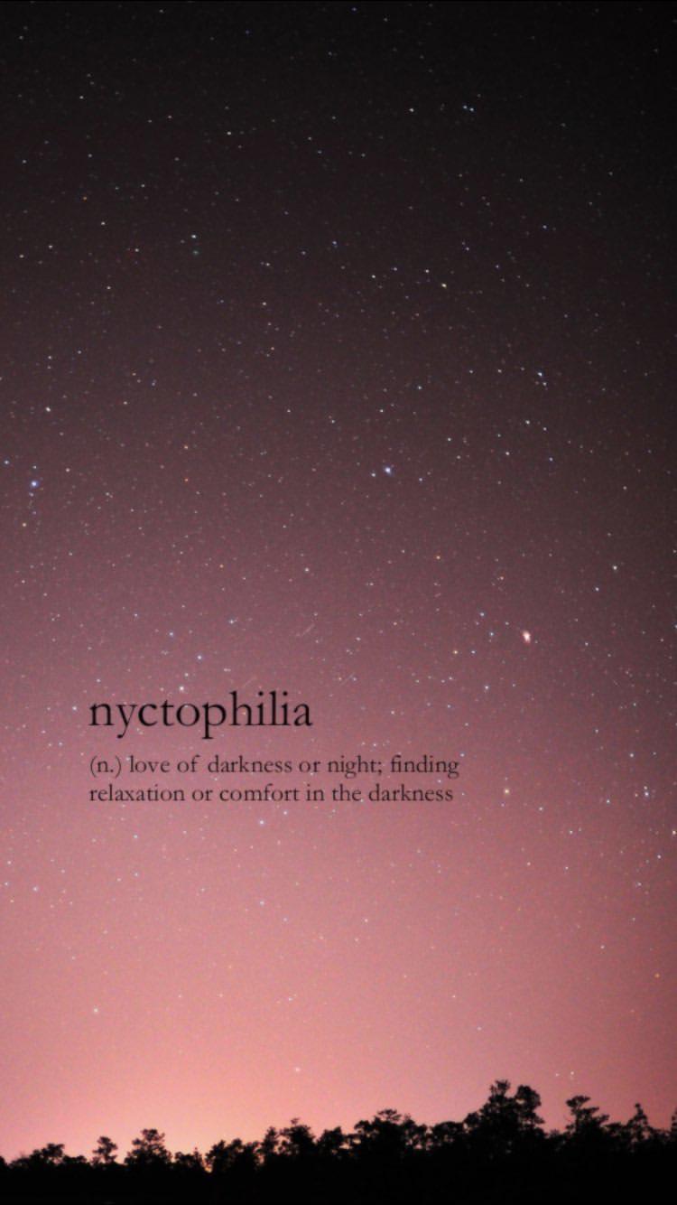 Dark Sky One Word Quotes Words Wallpaper Weird Words