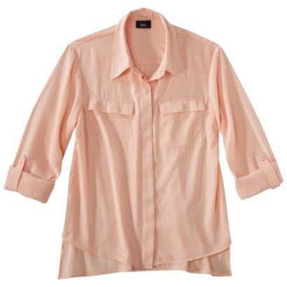 Mossimo® Women's Equipment Blouse -Assorted Colors