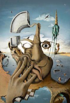 Salvador Dali Artwork on Pinterest | Salvador Dali Paintings ...