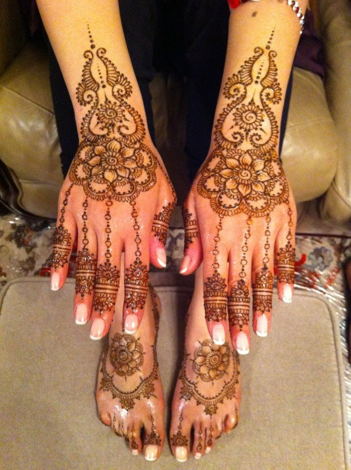 How Make Mehndi For Nails : All treatments acrylic nails manicure pedicure