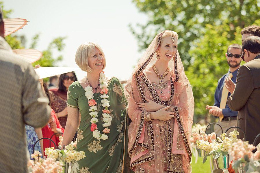 Beautiful Hindu Christian wedding photographed by Carlie Statsky photography