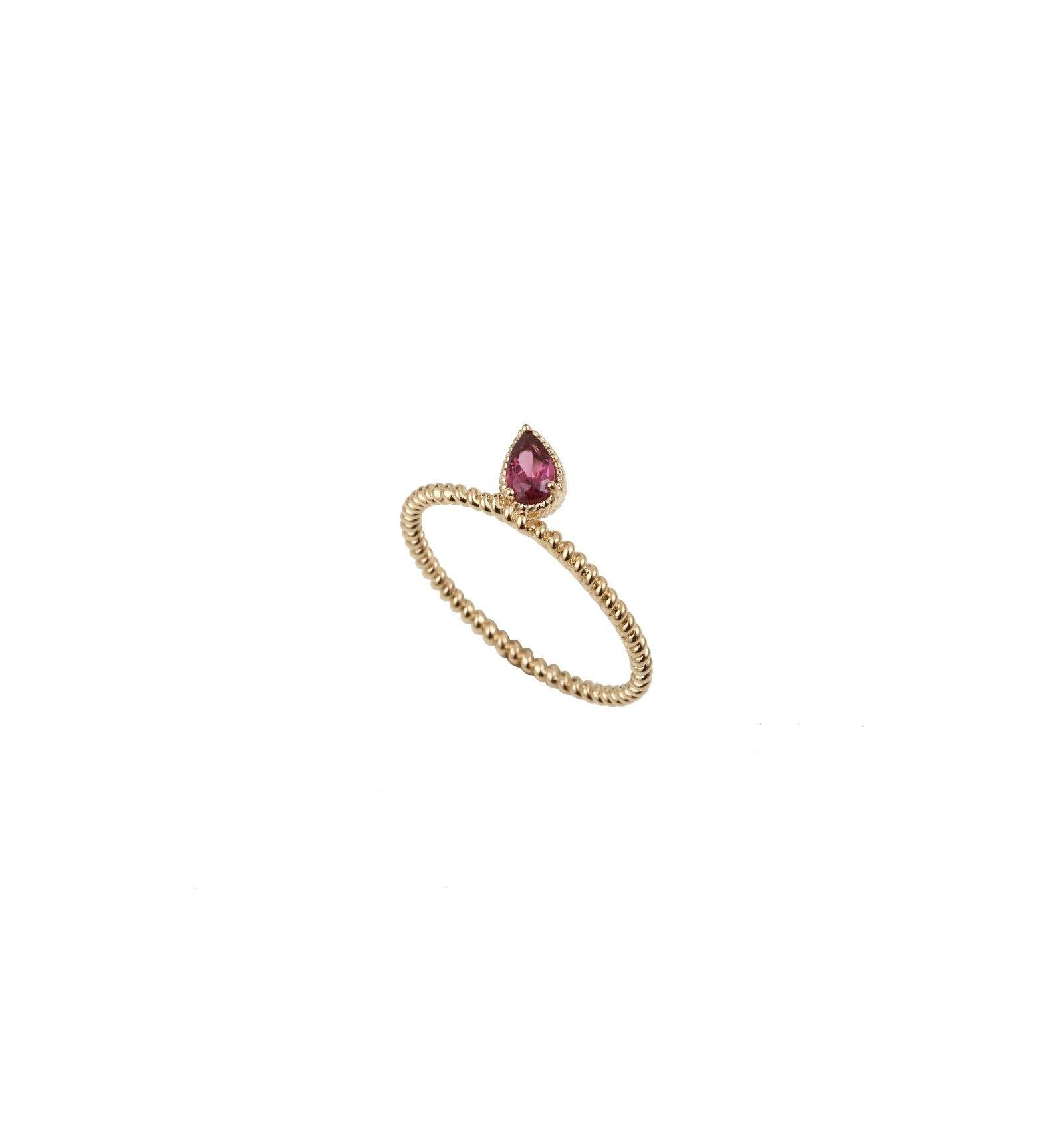 Bague Charmed Rhodolite Or Jaune   Bijoux   Bijoux 308281b664bc