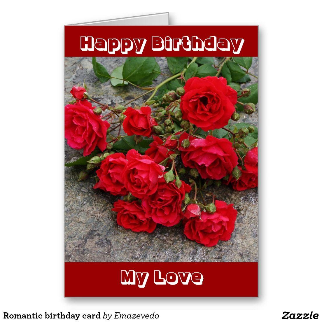Romantic birthday card romantic birthday cards romantic romantic birthday card kristyandbryce Choice Image