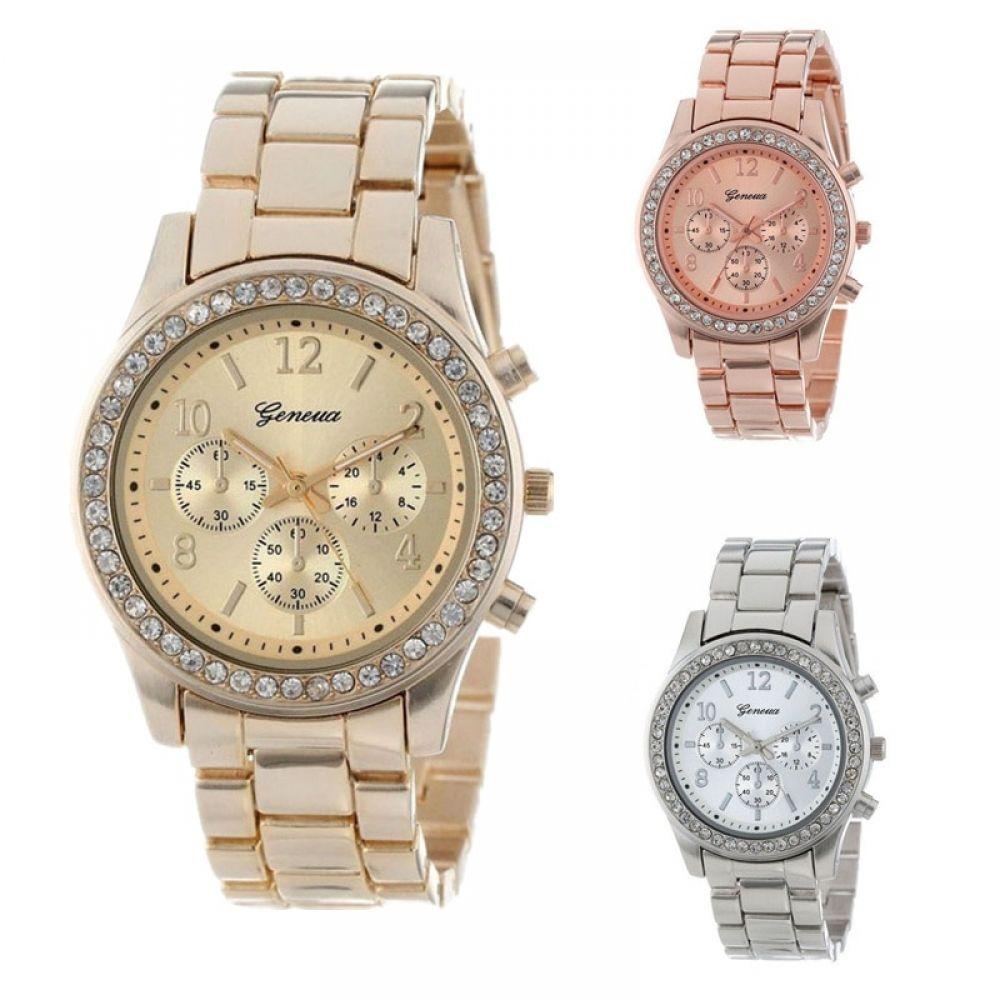 a39698e0 Geneva Classic Luxury Rhinestone Watch for Women | Woman's Watches ...