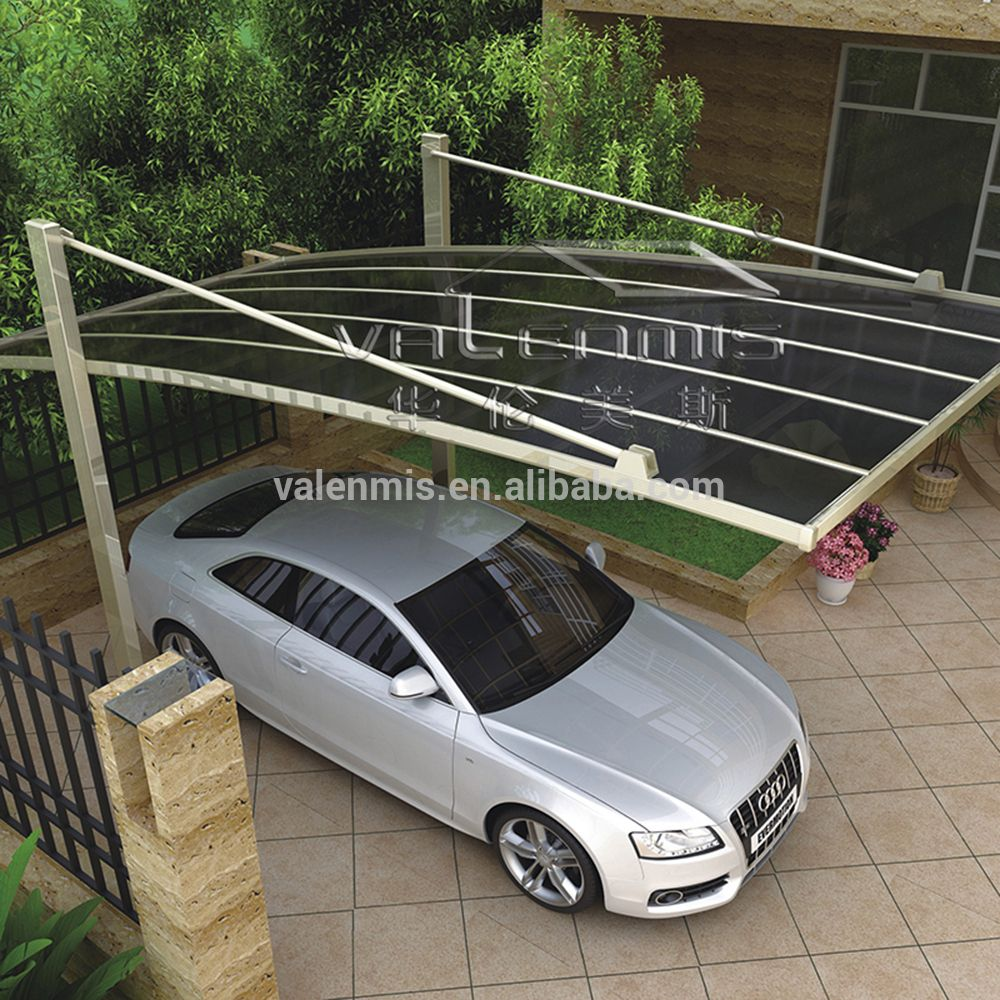 Source Polycarbonate car garage tents/car parking shade/car parking shed on m. & Source Polycarbonate car garage tents/car parking shade/car ...