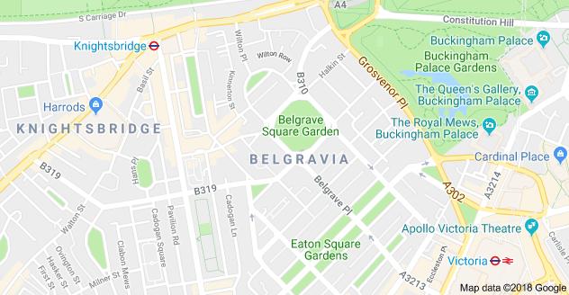Uk London Map.Map Of Belgrave Square Belgravia London Sw1x 8qb Uk London 3