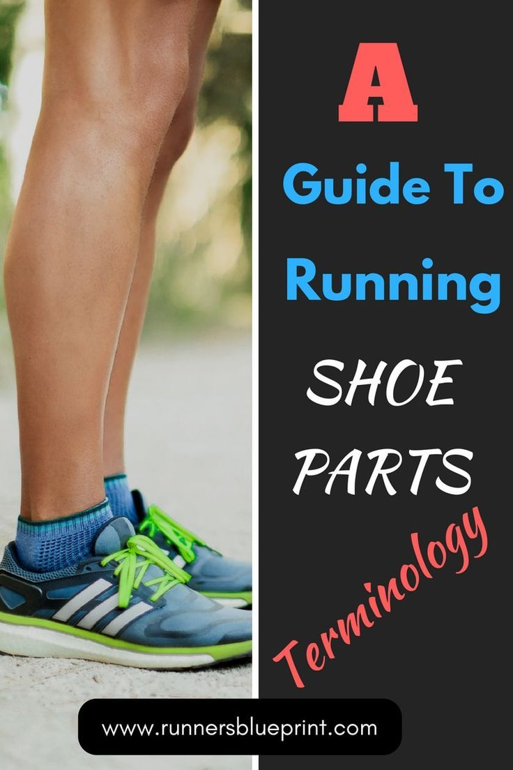 Anatomy of a Running Shoe - The 7 Main Parts | Running shoes ...