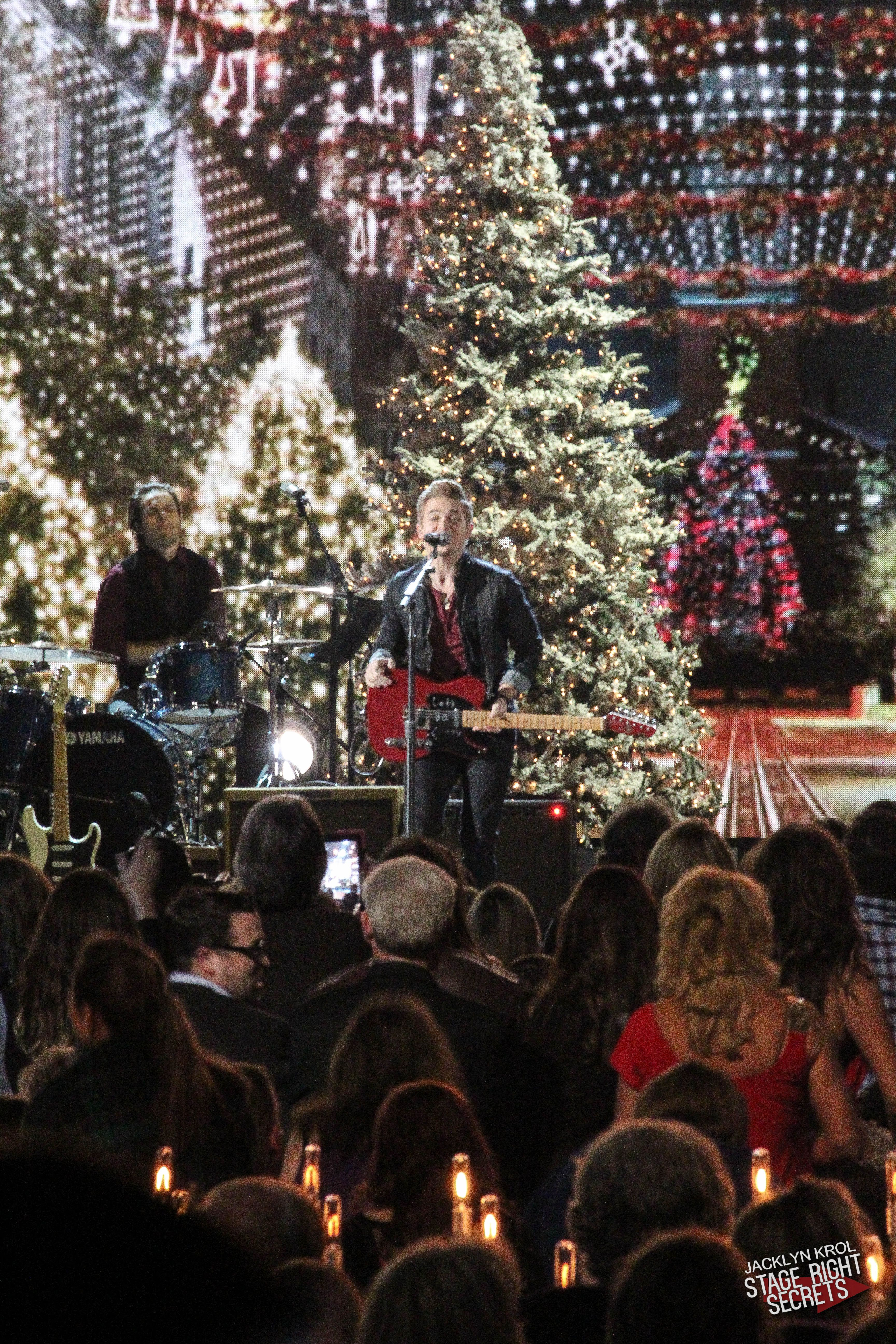 Hunter At Cma Country Christmas Country Christmas Hunter Hayes Best Night Of My Life