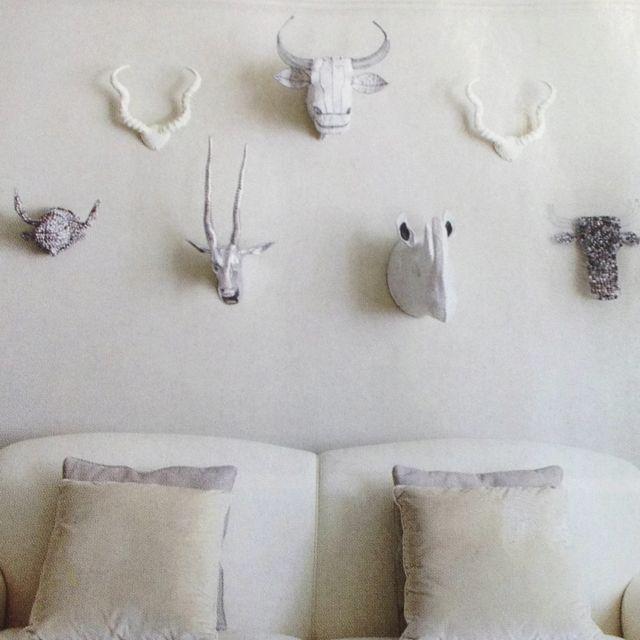 Savannah animal busts - Anthropologie