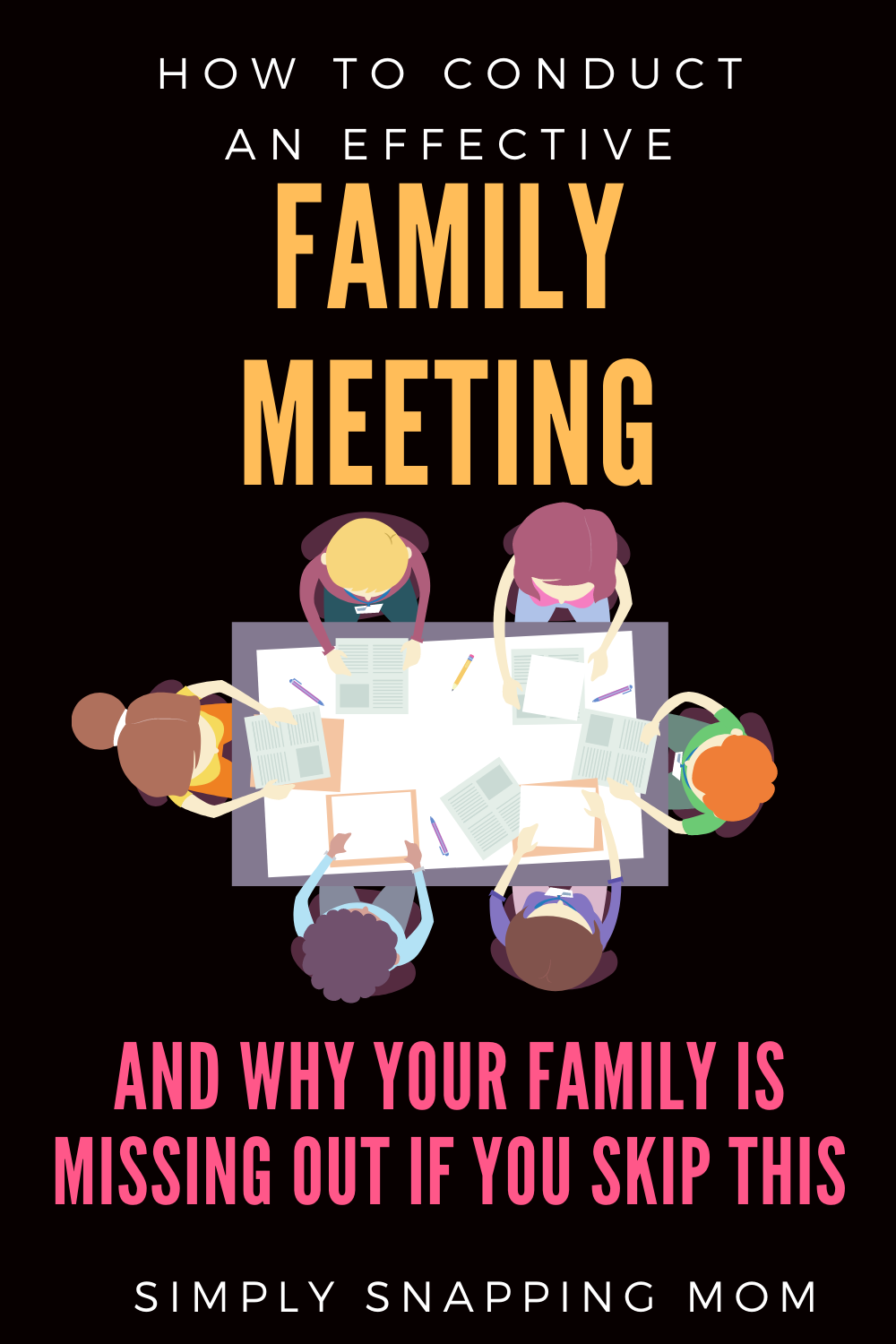Family Meeting Ideas and Agenda