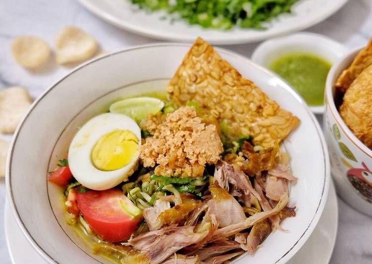 Resep Soto Lamongan Oleh Lena Nurtjahjo Resep Resep Resep Masakan Masakan