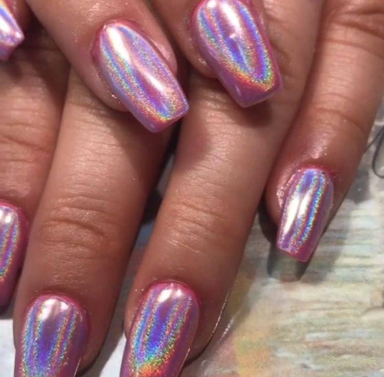 Pin by Karla✨🖤 on Nails | Pinterest | Glitter nails, Nail nail and ...