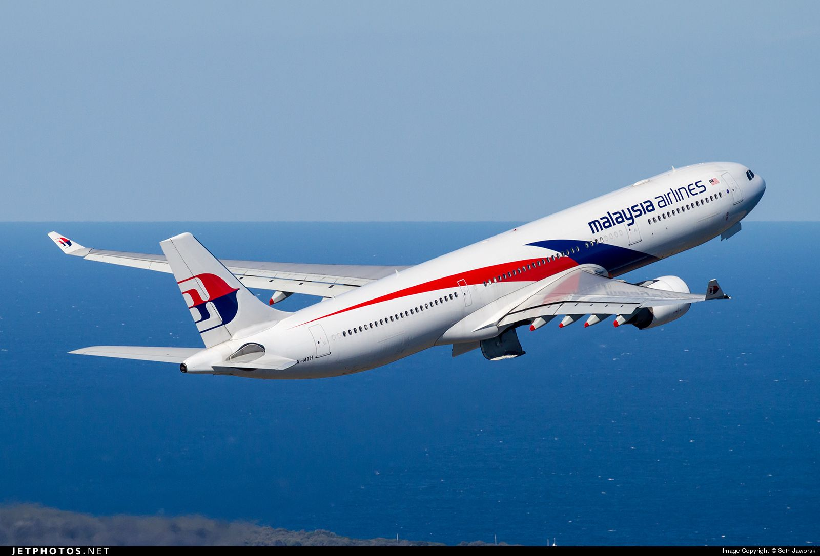 Malaysia Airlines A330-323 9M-MTH s/n 1336 at Sydney Kingsford Smith Int'l Airport - Photo by: Seth Jaworski