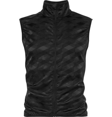 009dfd96857 CAFE DU CYCLISTE Jacqueline Windproof Stretch-Jacquard Cycling Gilet.   cafeducycliste  cloth  jackets
