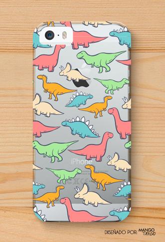 Cute dinosaur case <3