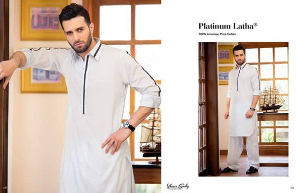 30697e3901 Gul Ahmed Men Eid Shalwar Kameez Collection are classic designs of men  shalwar kameez fabricated in different fabrics for men to be worn on  upcoming festive ...