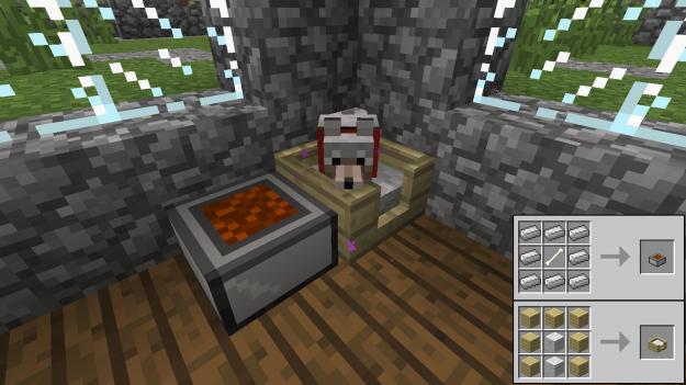 Minecraft Bed For Dog Minecraft