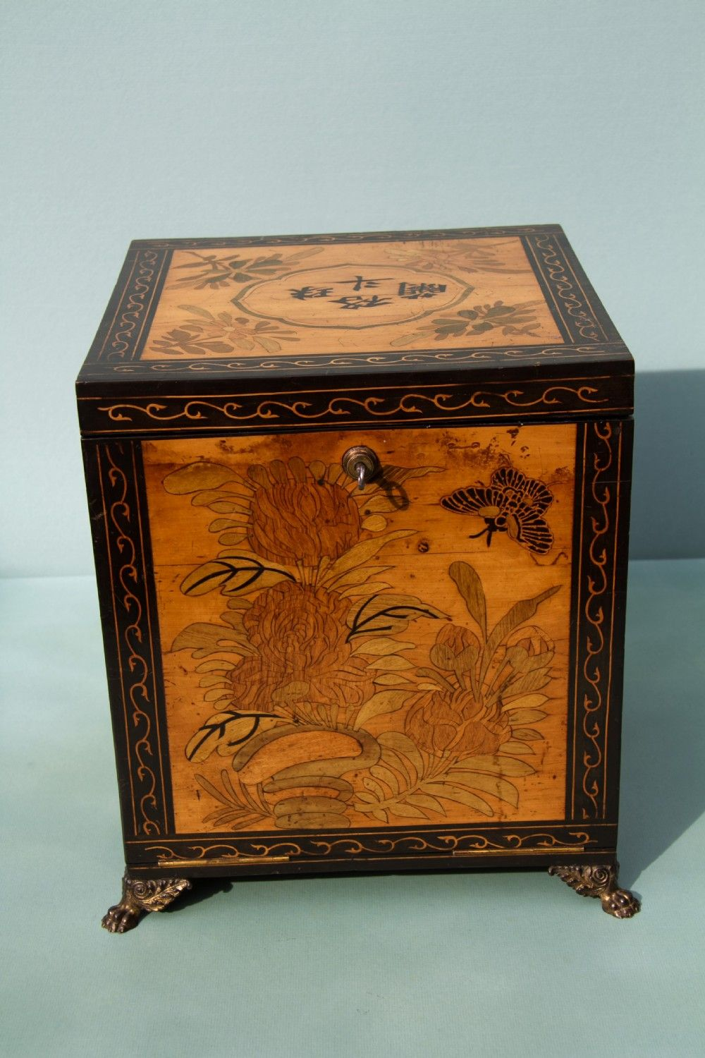 Victorian Tea Cabinet Box C1887 8 With Images Antiques For