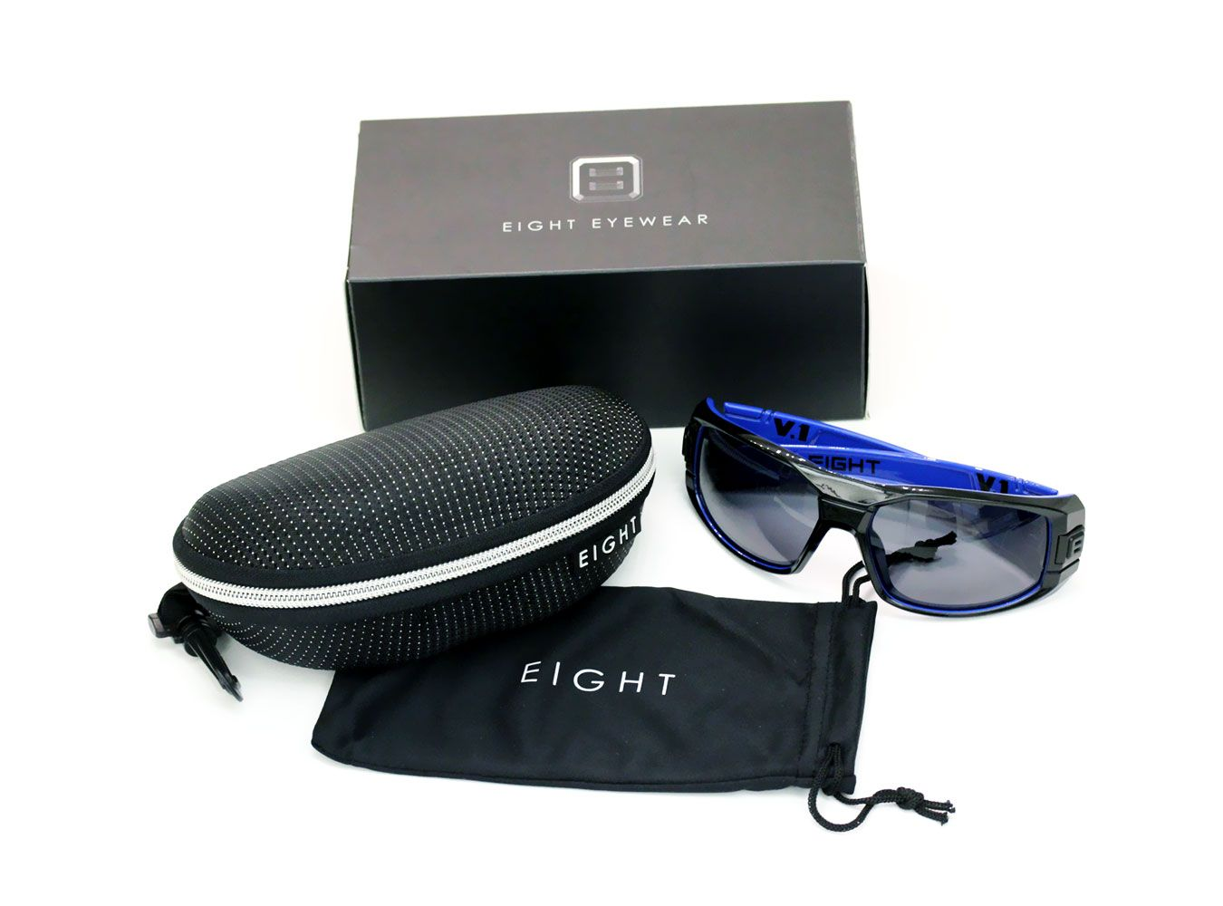 1693d62116 Glossy Black Blue V.1 from EIGHT Eyewear WWW.IWEAR8.COM  8eyewear ...