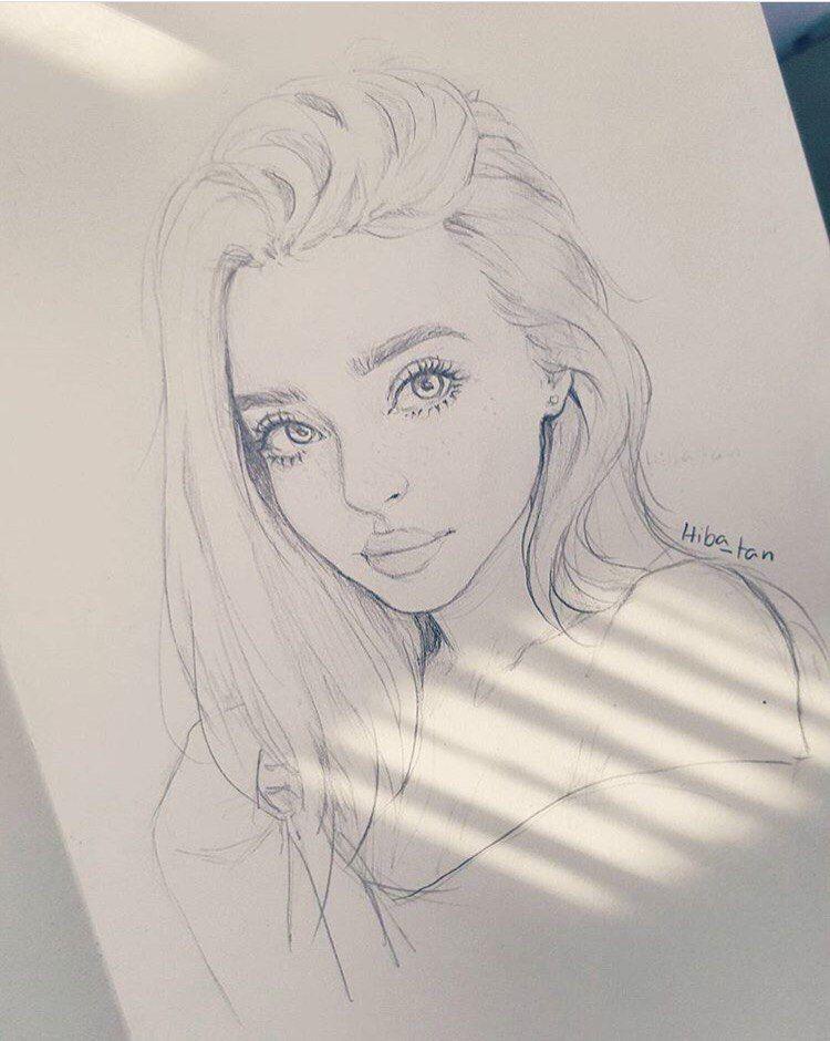 Character Design By Hiba Tan Cool Drawings Realistic Drawings