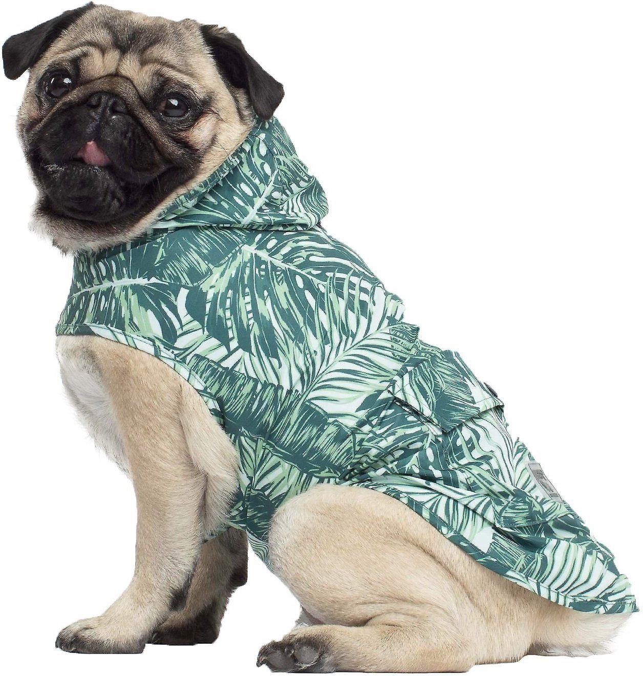 Canada Pooch Dog Raincoat, 14, Tropical Dog