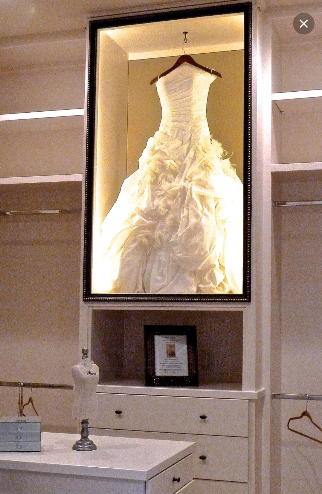 Framing wedding dress | Projects to try | Pinterest | Framed wedding ...