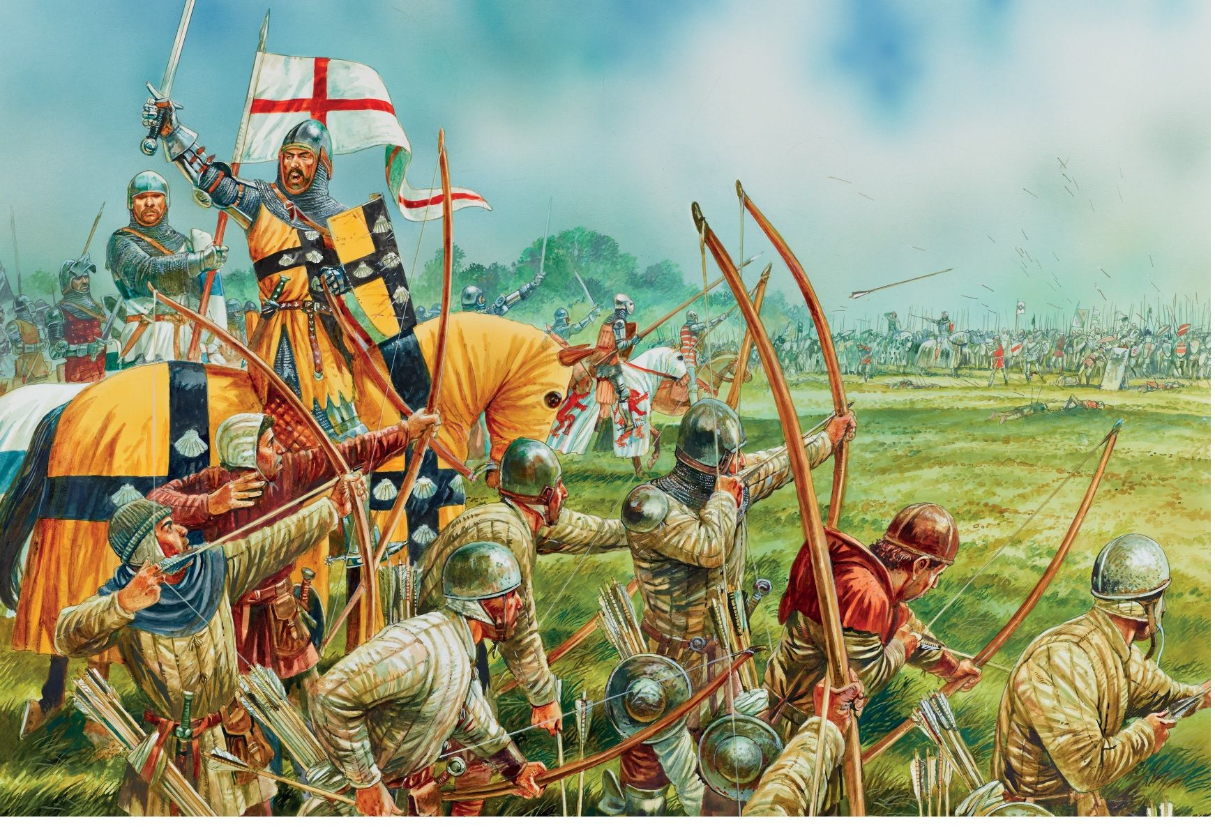 Longbowman Vs Crossbowman Hundred Years War 60