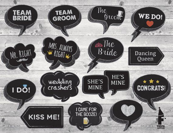 photo relating to Wedding Photo Booth Props Printable known as Pin upon Products and solutions