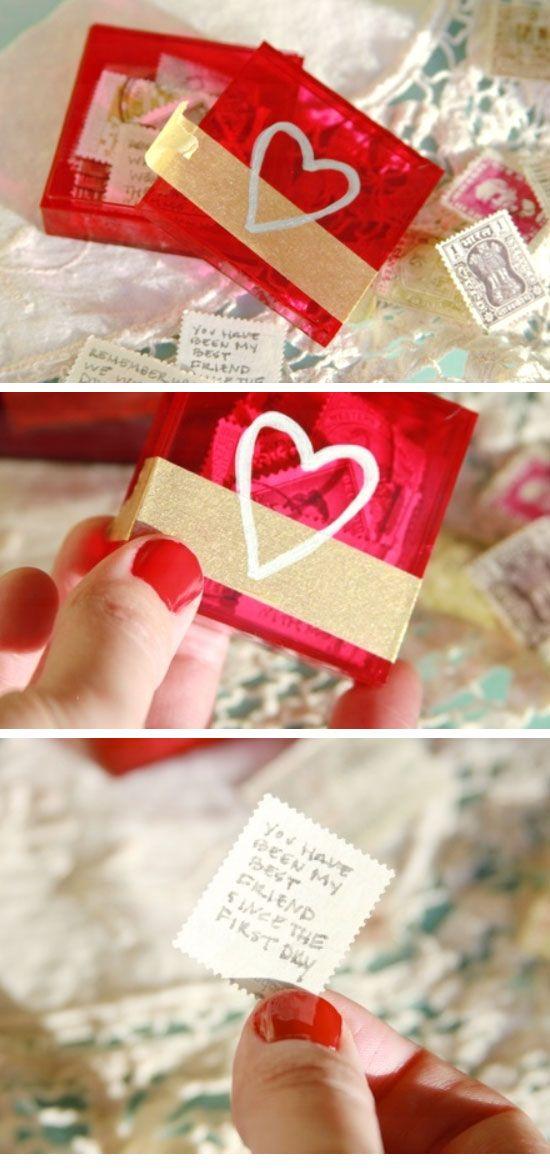 Easy Valentine Letter Box Diy Valentine Gifts For Boyfriend For