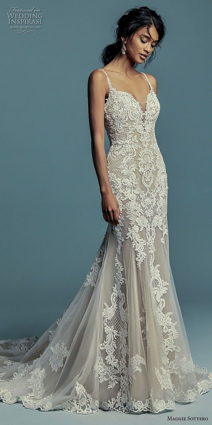 Elegant wedding dress. Leave out the soon-to-be husband, for the ...