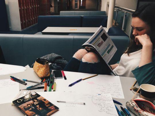 study or sleep