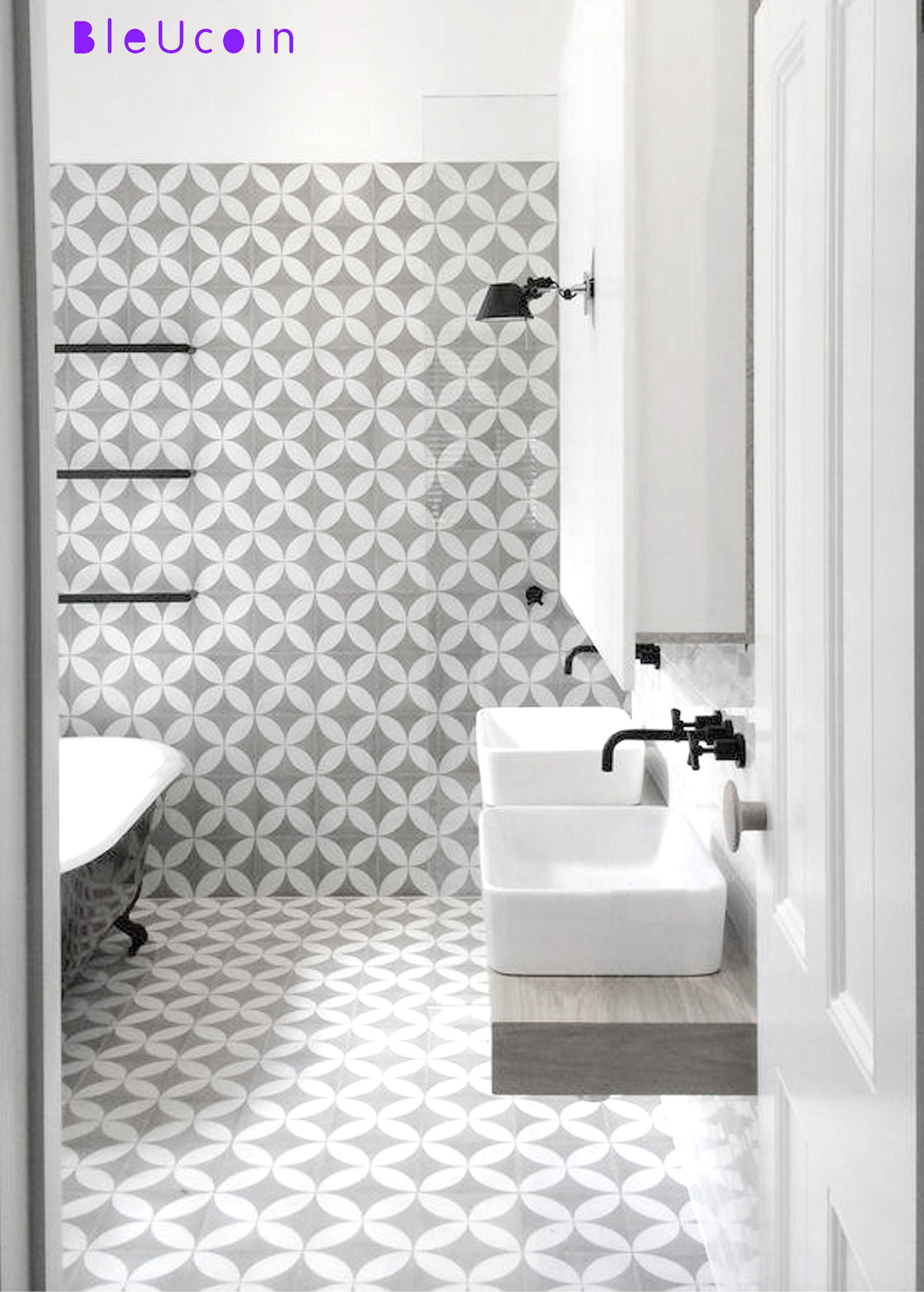 Tile/ Wall/ Stair Riser Decal/Stickers/ for Kitchen/ Bathroom ...