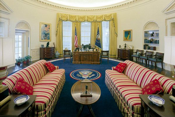 Clinton Oval Office