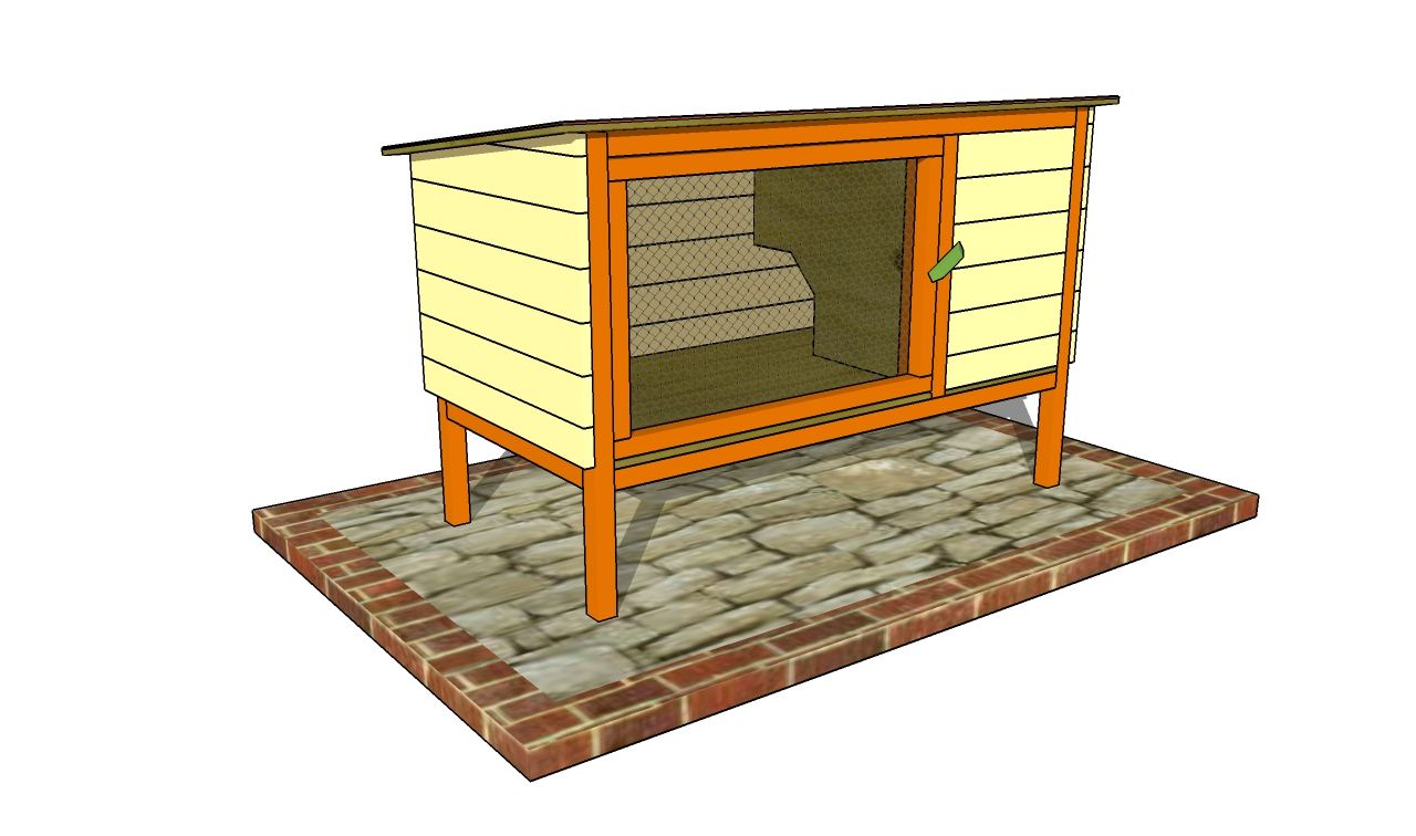 Outdoor rabbit hutch plans thissell abode pinterest for Diy hutch plans