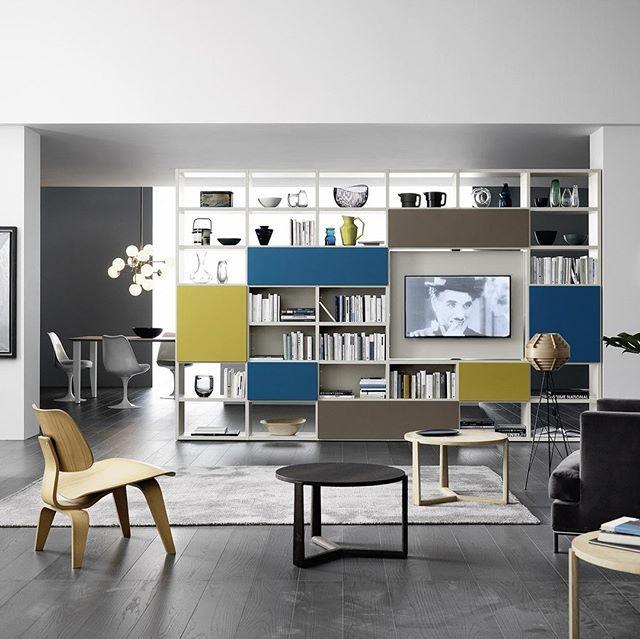 Livitalia Bücherregal C90 apartment design Pinterest Shelving - designer mobel bucherregal