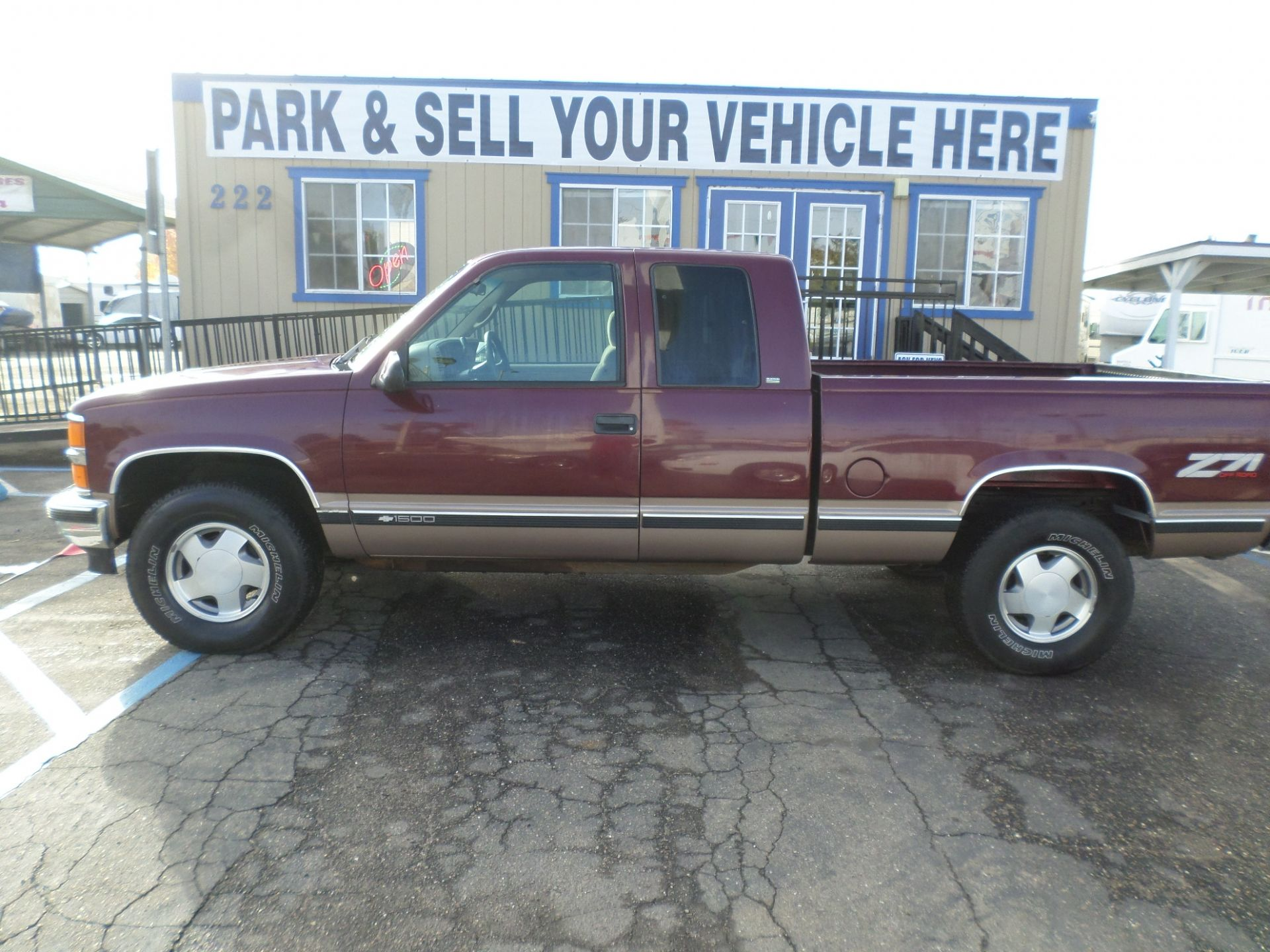 Truck For Sale 1997 Chevrolet 1500 Extended Cab 4x4 In Lodi